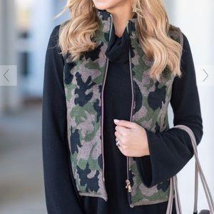 Jackets & Blazers - Camo Vest- RUNS SMALL